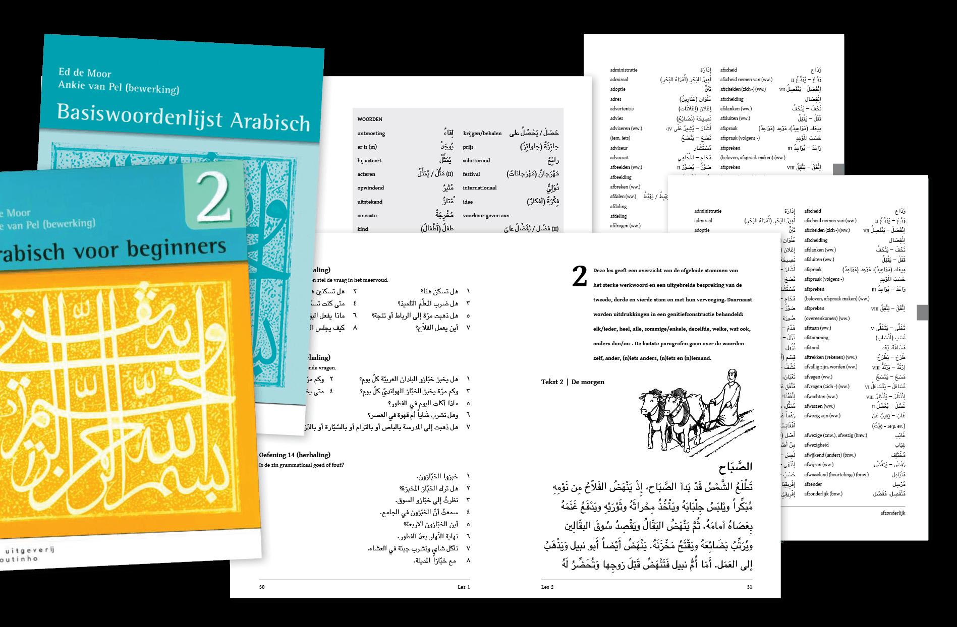 Luna 3 grafische communicatie arabisch for Arabisch woordenboek